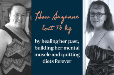 How Suzanne lost 73kg without exercising or dieting